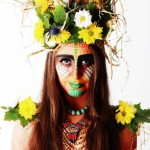 African Earth Mother Makeup
