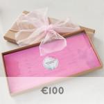 100 euro voucher graphic