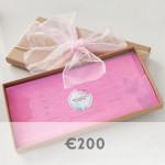 200 euro voucher graphic