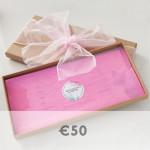 50 euro voucher graphic