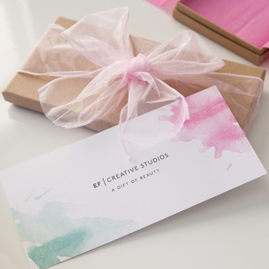 Presentation Gift Voucher for Woman You Love