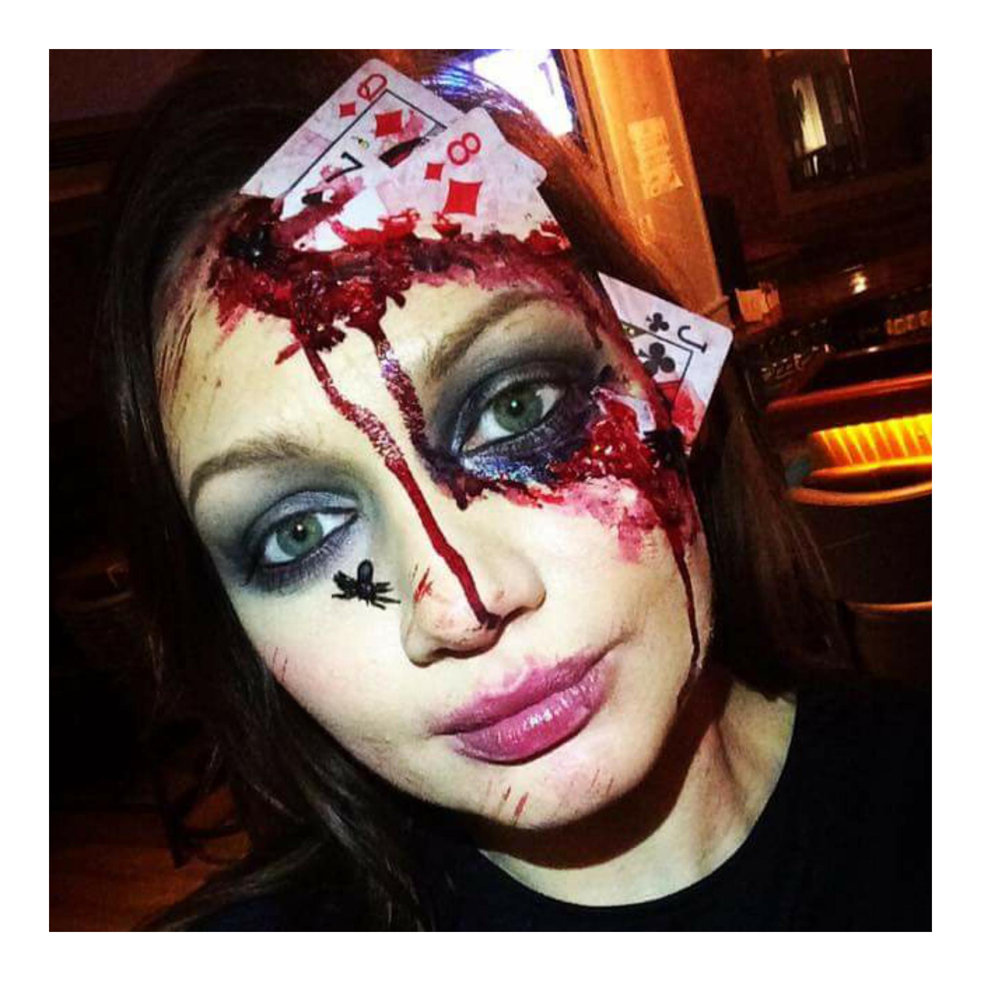Noeleen Cunningham, halloween, makeup look