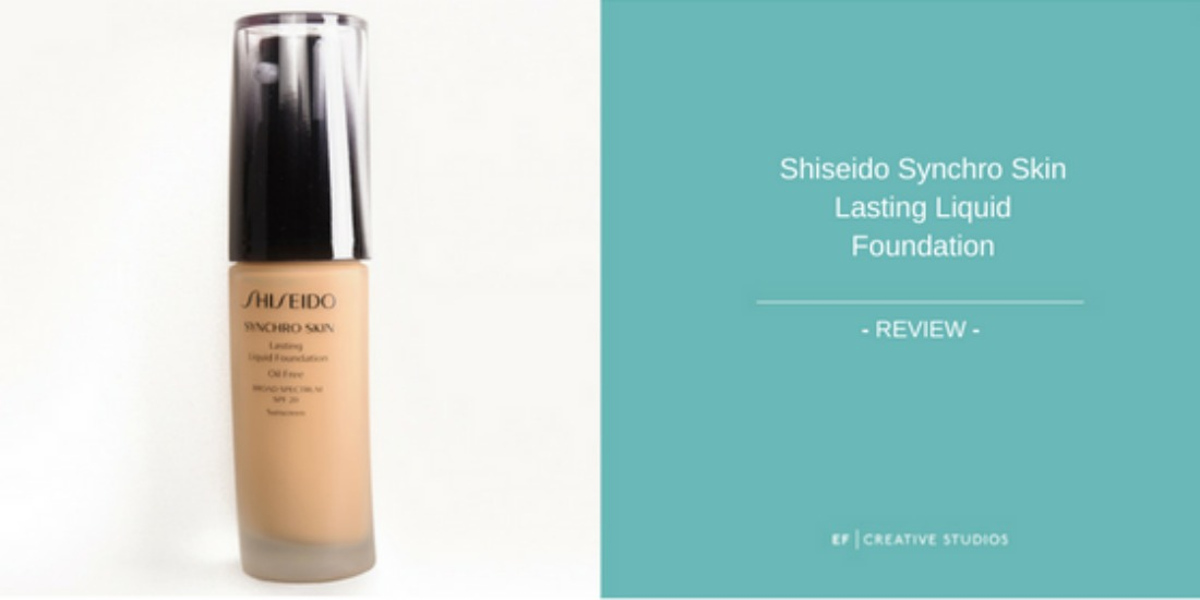 review shiseido synchro skin glow foundation ef. Black Bedroom Furniture Sets. Home Design Ideas