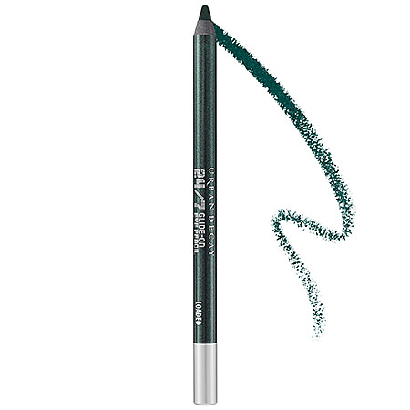 Loaded- Urban decay eye liner, green, paddy's day