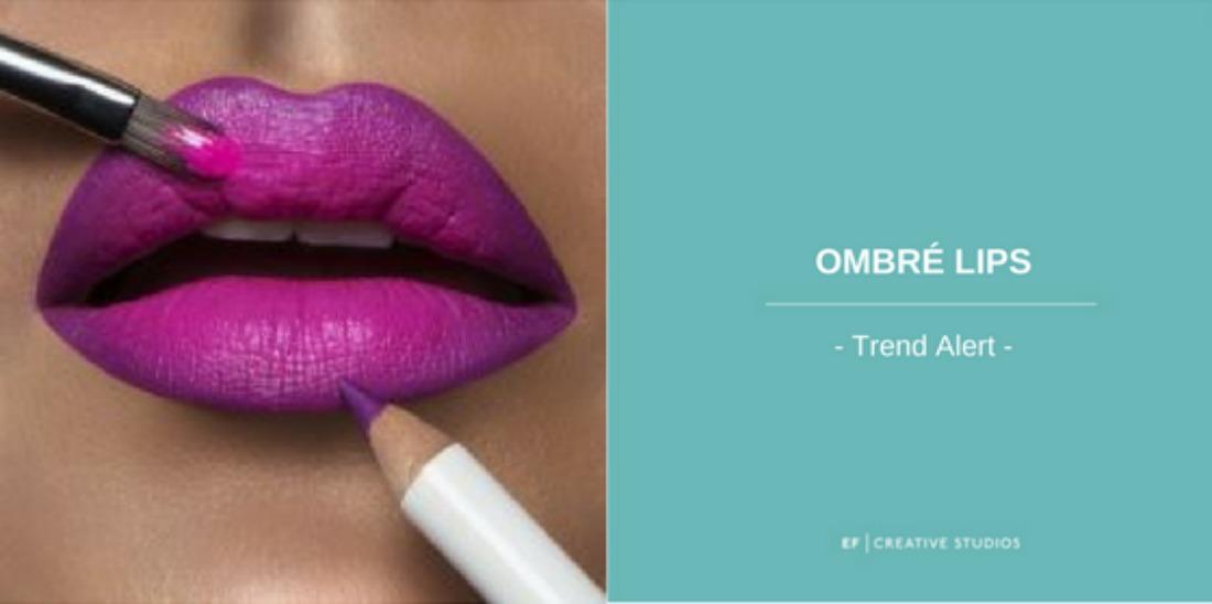 ombré lips, blog post