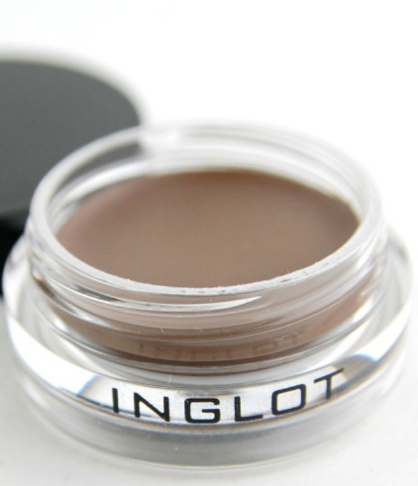 Inglot eyebrow gel, makeup bag, makeup art