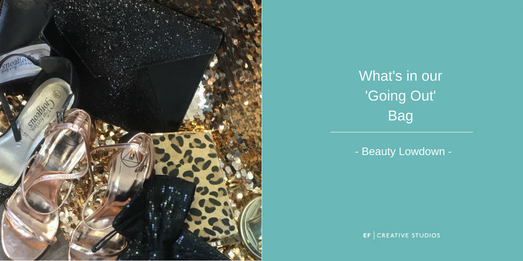 Whats in our going out bags, makeup artist bags