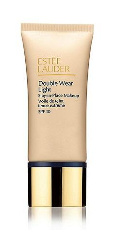 estee lauder double wear light, makeup bag