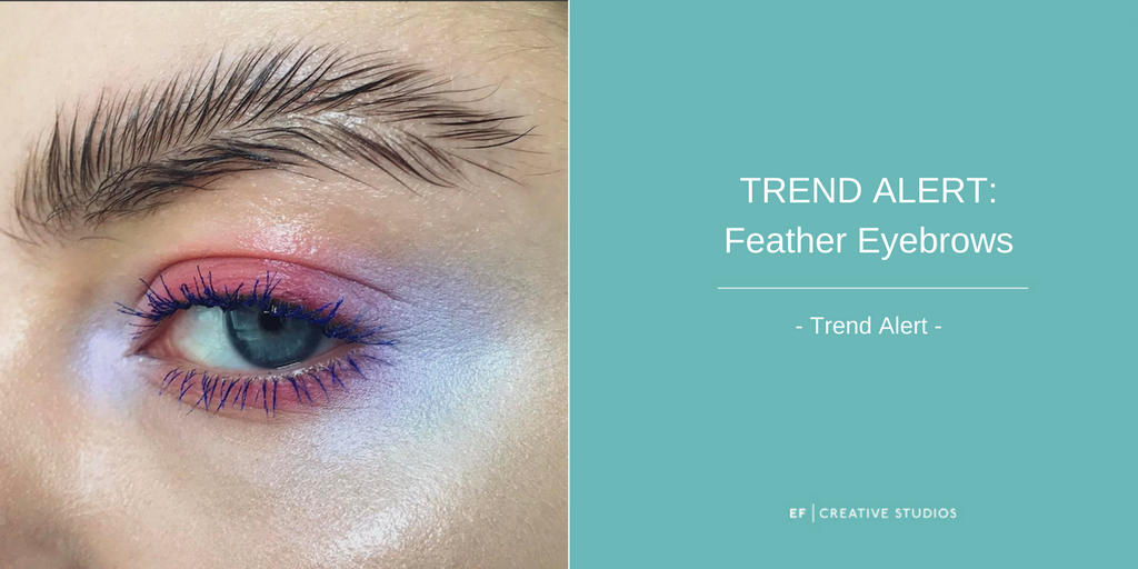 Feather Brows, trend alert, feathered eyebrows