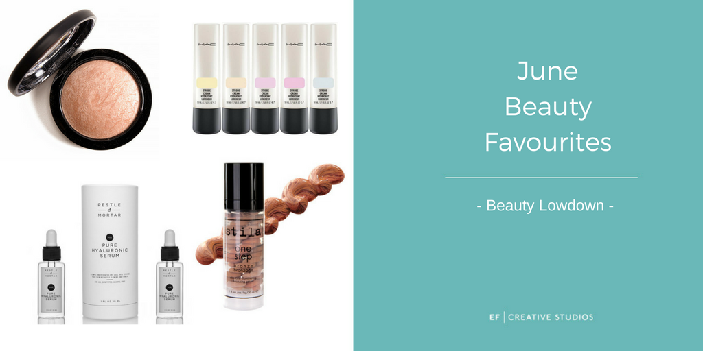 favourite beauty products in june