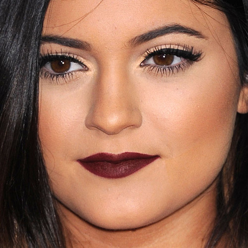 "kylie-jenner-makeup-25 The Hunger Games- Catching Fire"" Los Angeles Premiere on November 18, 2013 in Los Angeles, CA"