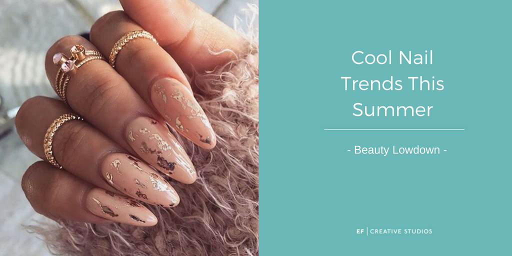 cool nail trends this summer