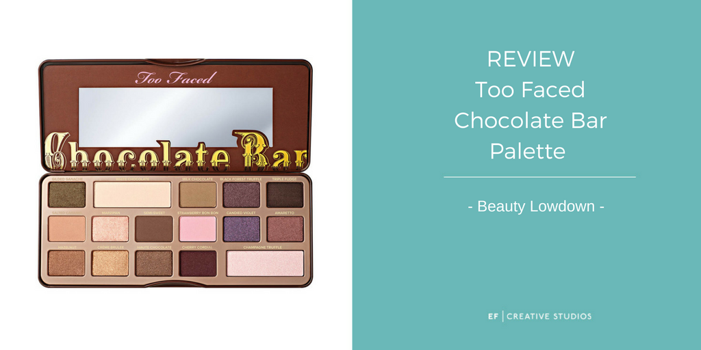too faced, chocolate bar palette